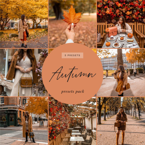 kelseyinlondon lightroom presets autumn
