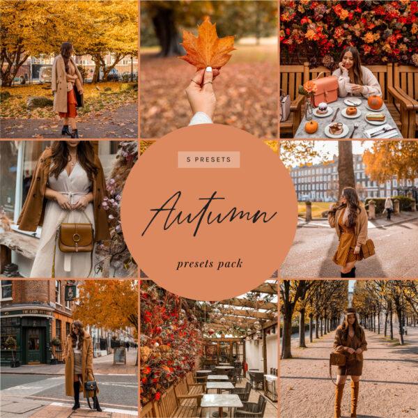 kelseyinlondon lightroom presets autumn