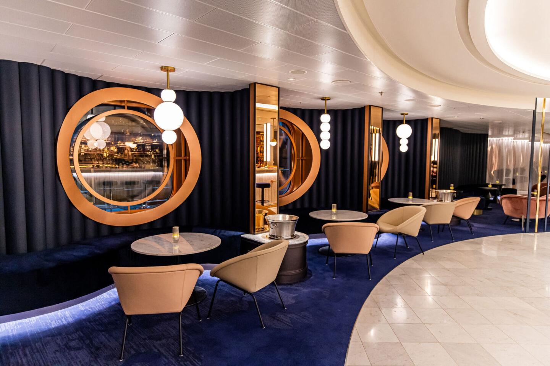 Kelsey Heinrichs kelseyinlondon Virgin Voyages Scarlet Lady Cruise Ship UK Travel Blogger