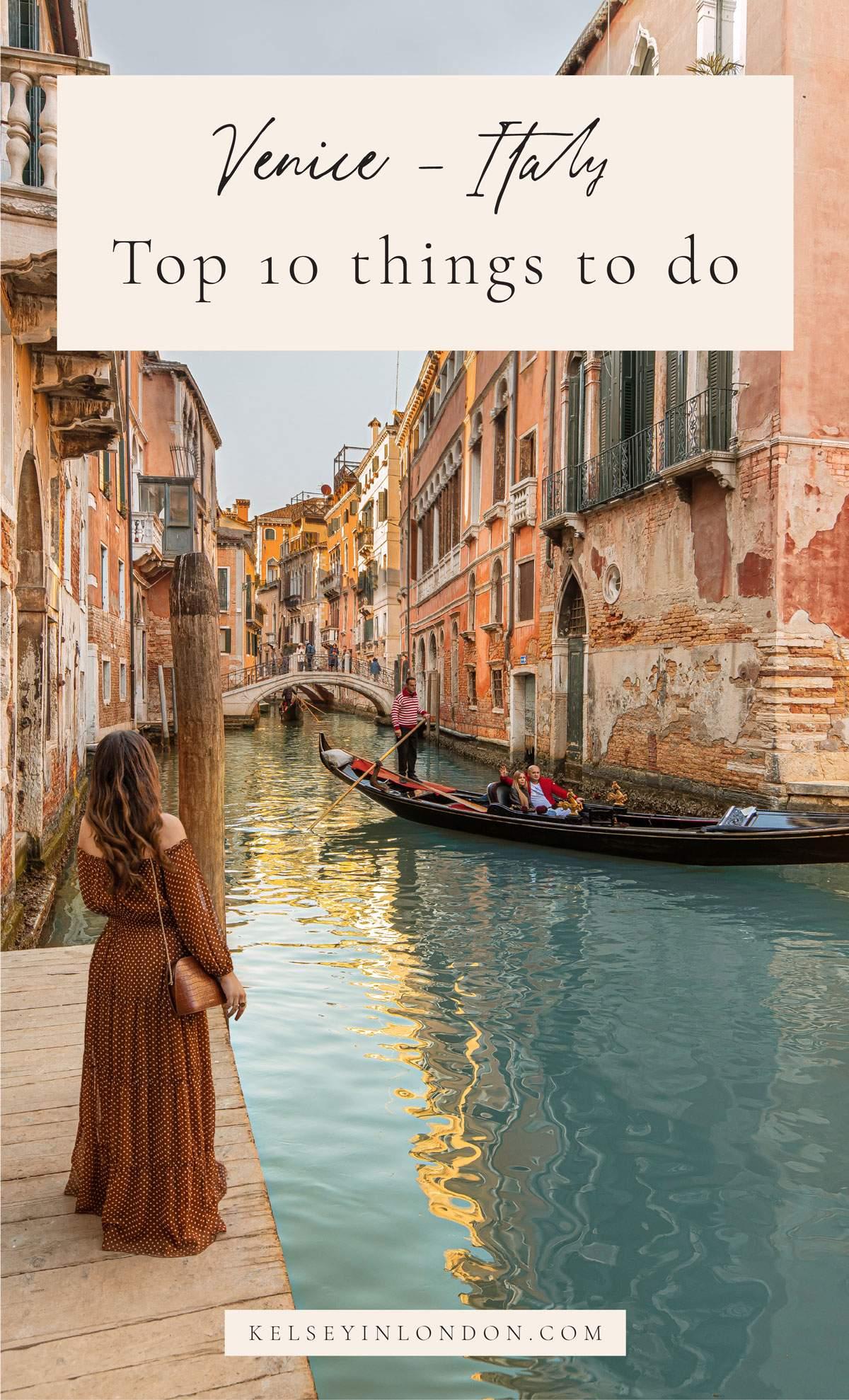 Top things to do in Venice - Venice Bucketlist - Instagram Story Template - kelseyinlondon - Kelsey Heinrichs - What to do in Venice - Where to go in Venice - top places in Venice - Venice Instagram Spots