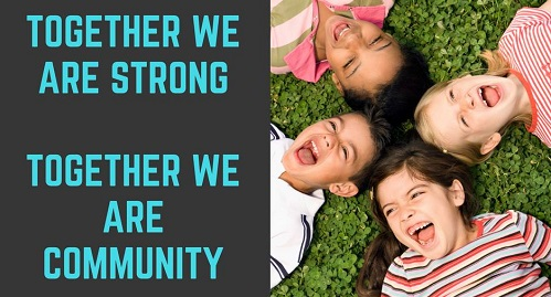 #Togetherweareacommunity