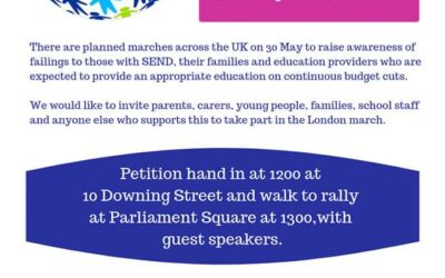 SEND National Crisis March across the country
