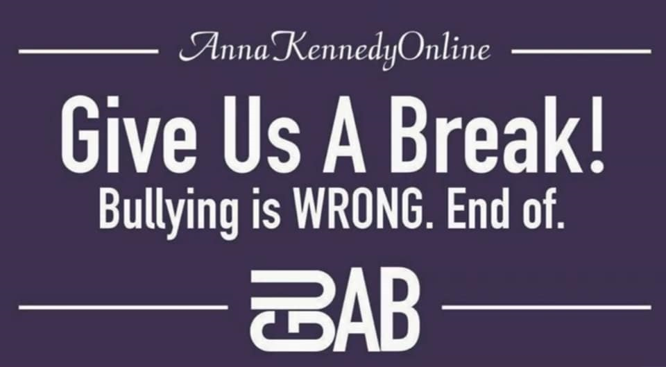 Introducing #GUAB Give Us A Break 2019 Anti-bullying campaign