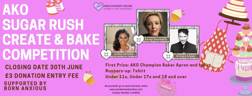 Cake poster header