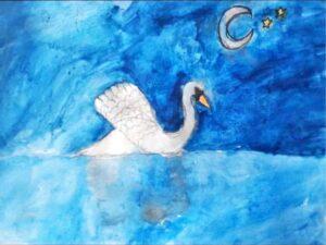 Tilly Davies - swan