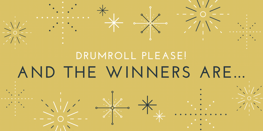 Drumroll please – announcing our amazing art competition winners!