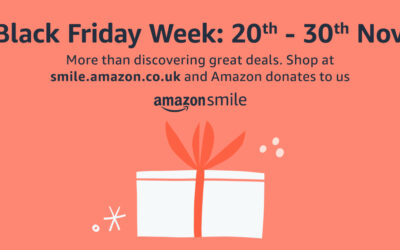 Amazon Smile Black Friday Week 2020 – Support our charity!