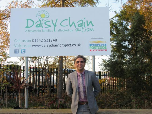 'The Daisy Chain day centre, farm and outdoor activity spaces provide a vital safe haven and productive platform for both children and adults. I am delighted to be tasked with the opportunity to expand upon the beneficial and vital autism based support services across the Tees Valley.'