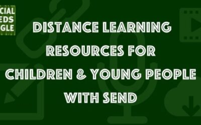 Distance education resources for children and young people with SEND
