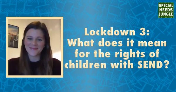 Lockdown 3: What does it mean for the rights of children with SEND?