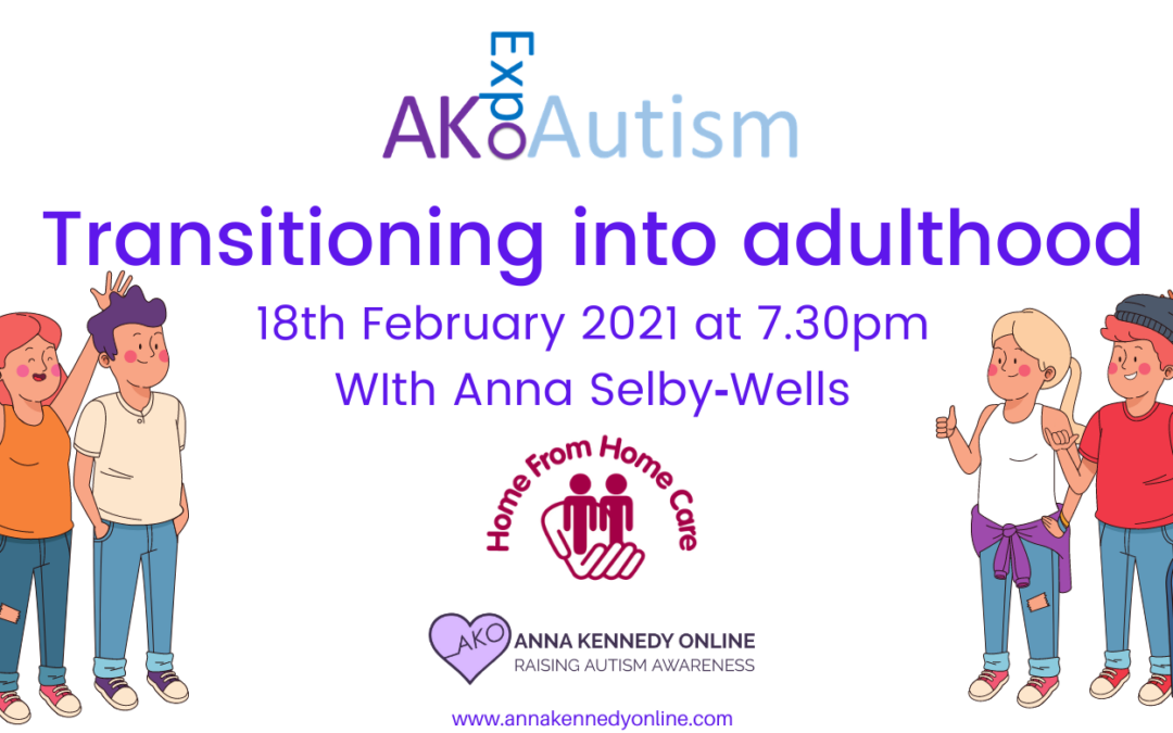 Transitioning into adulthood workshop with Anna Selby‑Wells