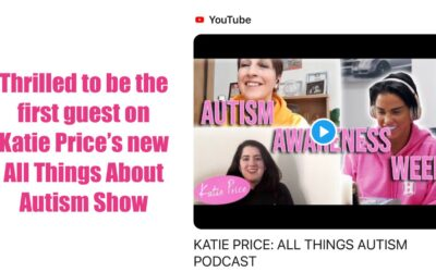 Our Ambassador Katie Price launches an All Things Autism Podcast – on Autism Awareness week