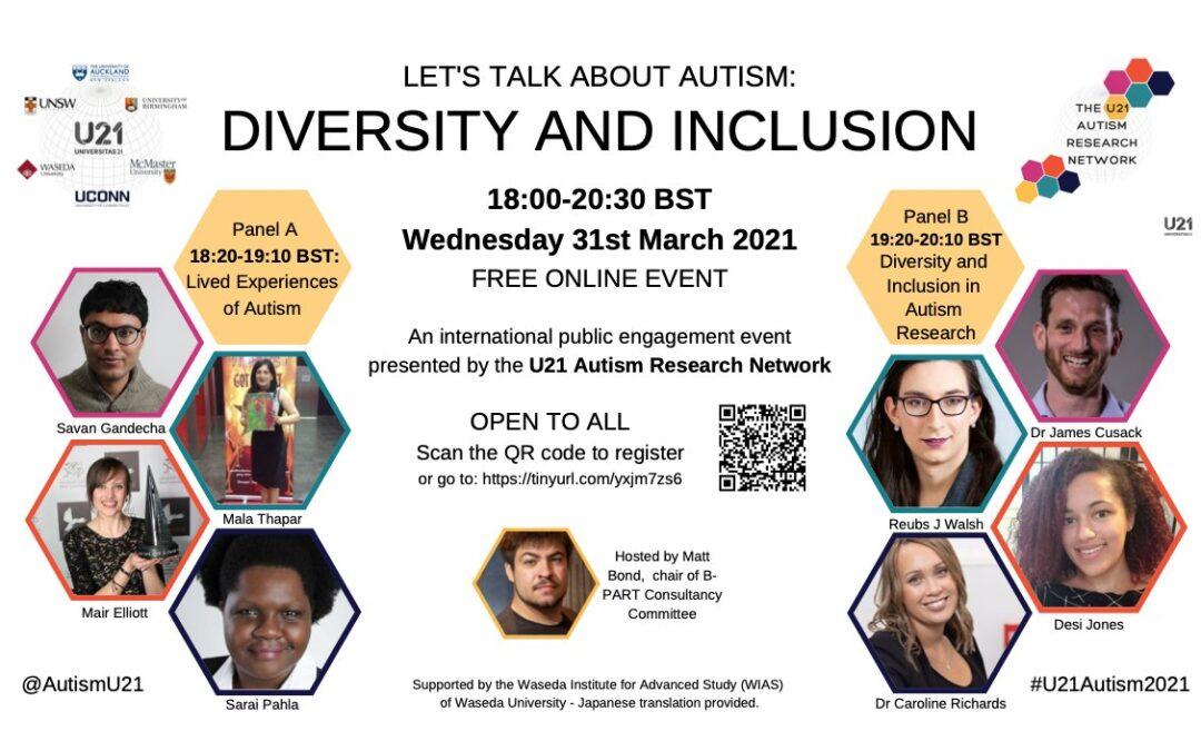 Let's Talk About Autism: Diversity and Inclusion