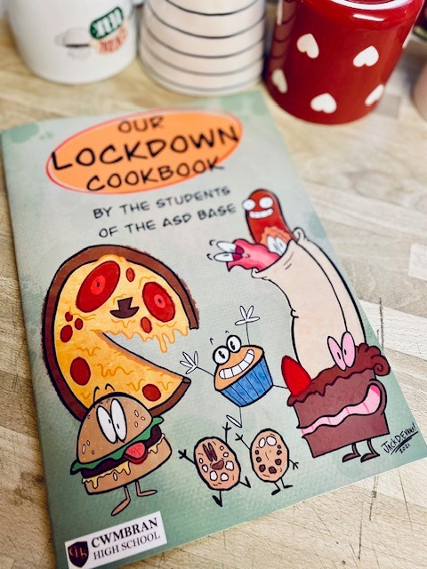 Our Lockdown Cookbook by The Students of the ASD Base: A book review by Beverly Guest our Charity Champion