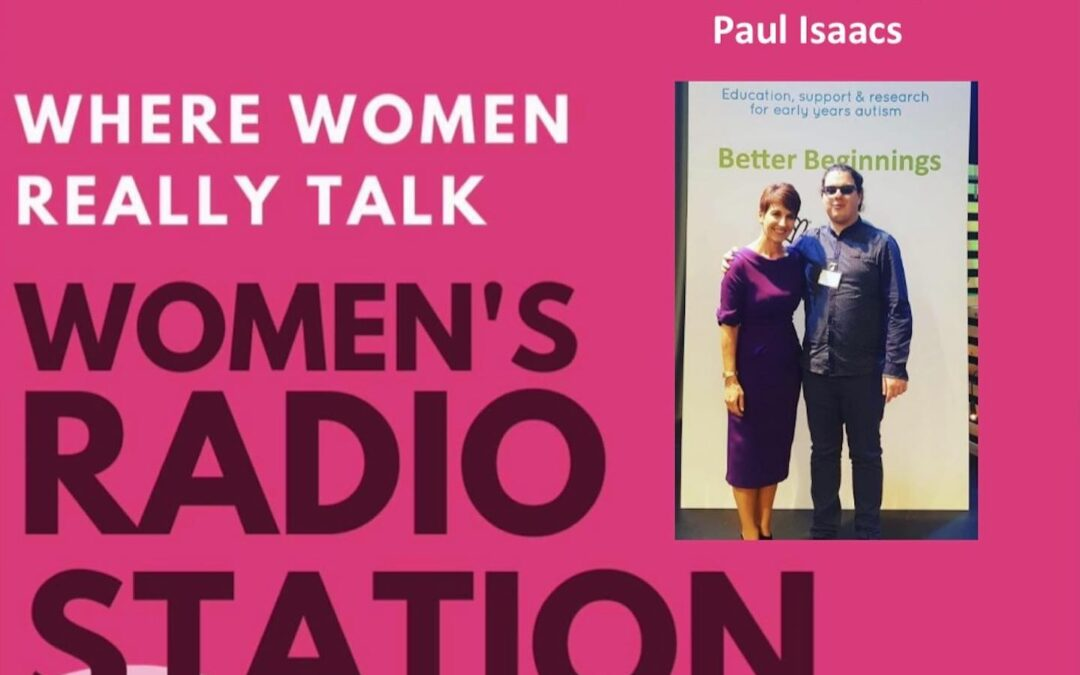 Anna's guest this week at Women's Radio was our charity Ambassador Paul Isaacs