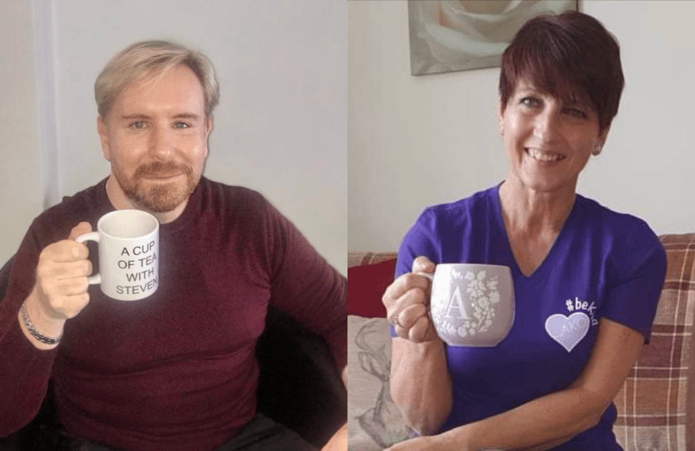 Autism charity boss Anna Kennedy OBE has a cup of tea with Steven