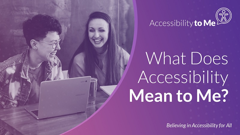 Anna Kennedy Online Supports – What Does Accessibility Mean to Me Awareness Week