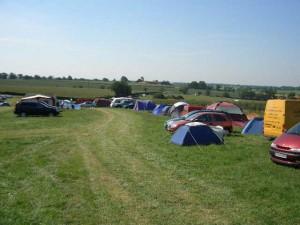 Campsite view tents 17