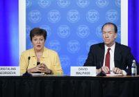 "FMI, GEORGIEVA: ""CRESCITA 2020 INFERIORE A QUELLA DEL 2019"""