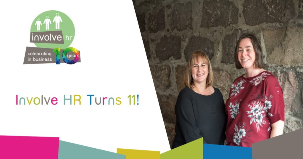 Involve HR celebrates 11th year in business