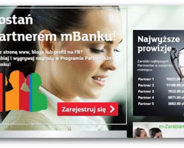 Program partnerski mBanku — czy naprawdę płaci? Opis, opinie