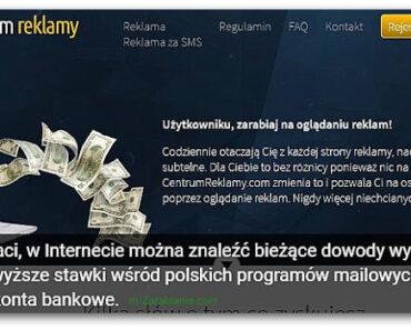 CentrumReklamy – płaci za czytanie maili od 2004 r. – opinie