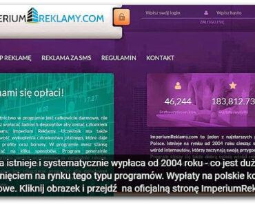 ImperiumReklamy – czy ta strona naprawdę płaci? Opinie, opis