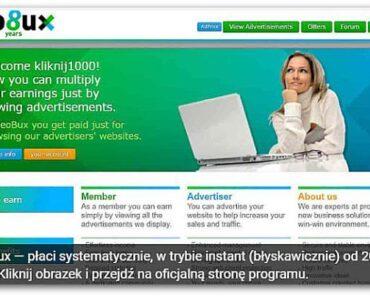 Neobux – zarabianie na oglądaniu reklam, opinie, opis, wady