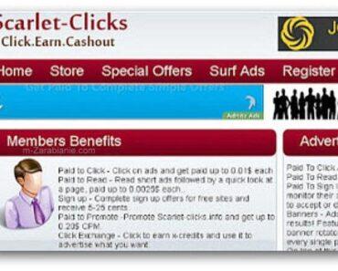 Scarlet-Clicks — czy ten program płaci za oglądanie reklam?