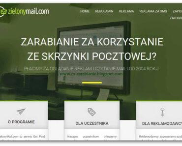 ZielonyMail — czy ten program mailowy płaci? Opinie, opis