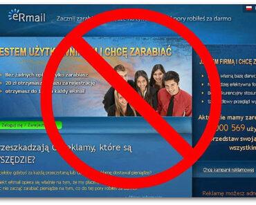 Czy eRmail płaci? 1 287 420 użytkowników, a gdzie dowody wypłat? SCAM?