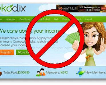 EkoClix — Płatne oglądanie reklam, opinie, opis