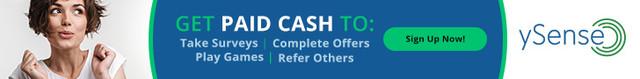 ySense - zarabianie przez internet, płatne ankiety