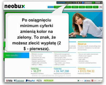 Jak wypłacić pieniądze z Neobux? — instrukcja, poradnik, opis