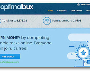 OptimalBux – czy ta strona płaci? Opinie, opis, wady, zalety