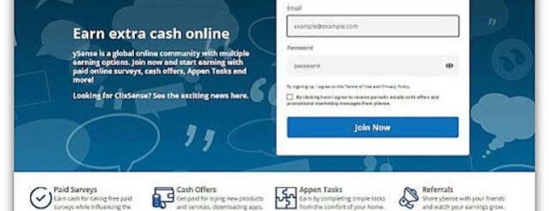 ySense – czy ta strona naprawdę płaci? Opinie, opis, wady