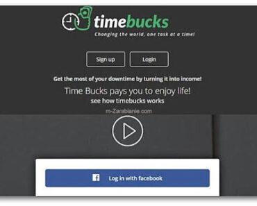 TimeBucks – czy naprawdę płaci w 2021 roku? Wady i zalety