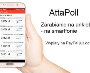 AttaPoll — jak zarabiać na ankietach za pomocą smartfonu