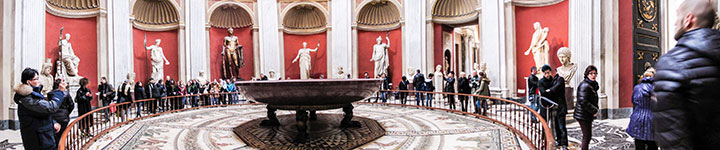 Gallery in the Vatican Museums