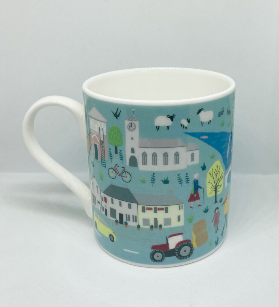 Village Community Bone China Cup