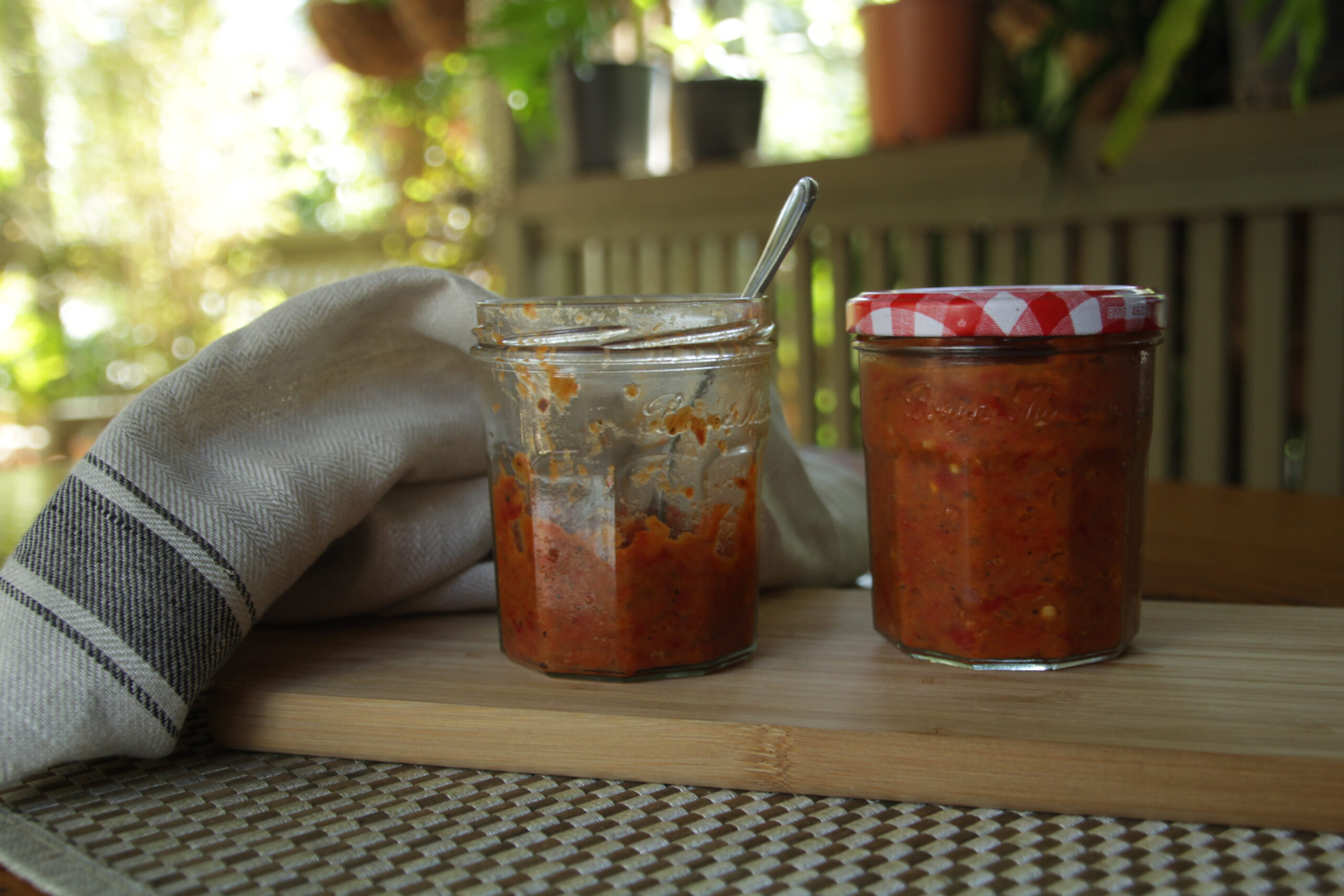 Ajvar (Roasted Red Pepper and Eggplant Relish)