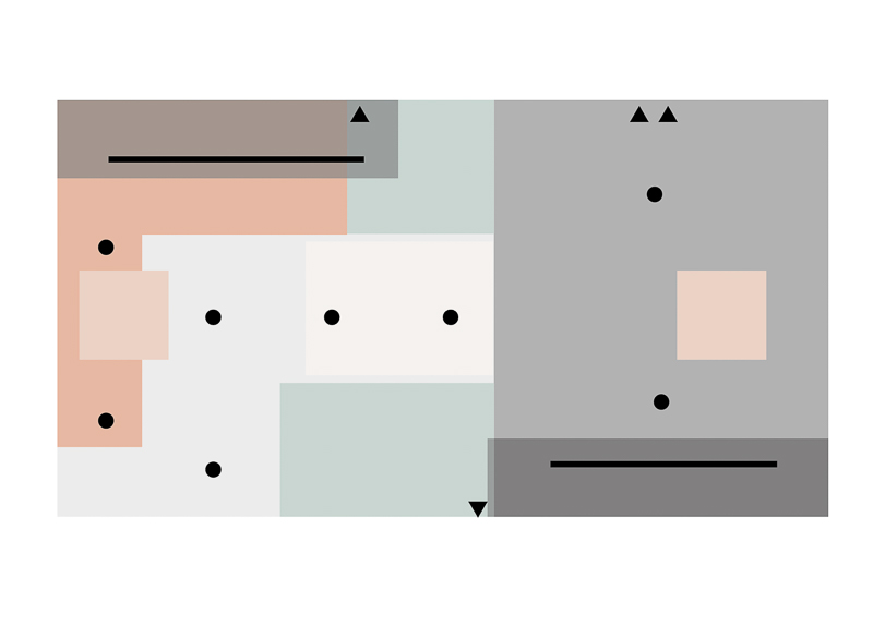 An image of our lighting layout created in Adobe Illustrator