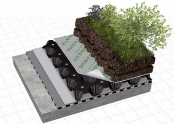 buried roof waterproofing