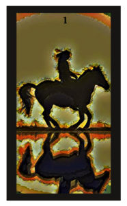 Lenormand Rider Card
