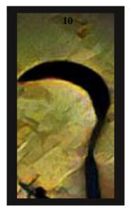 Lenormand Scythe Card