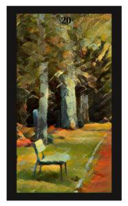 Lenormand Garden Card