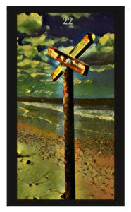 Lenormand Crossroad Card
