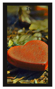 Lenormand Heart Card