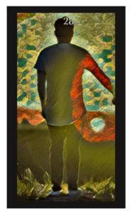 Lenormand Man Card