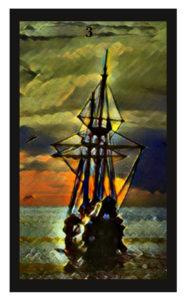 Lenormand Ship Card